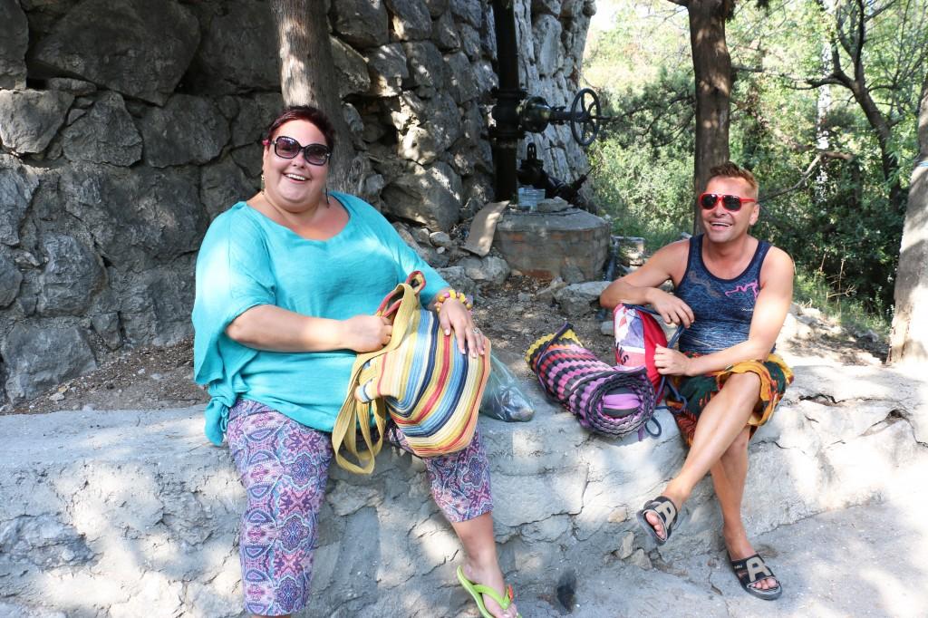 туристы Симеиза