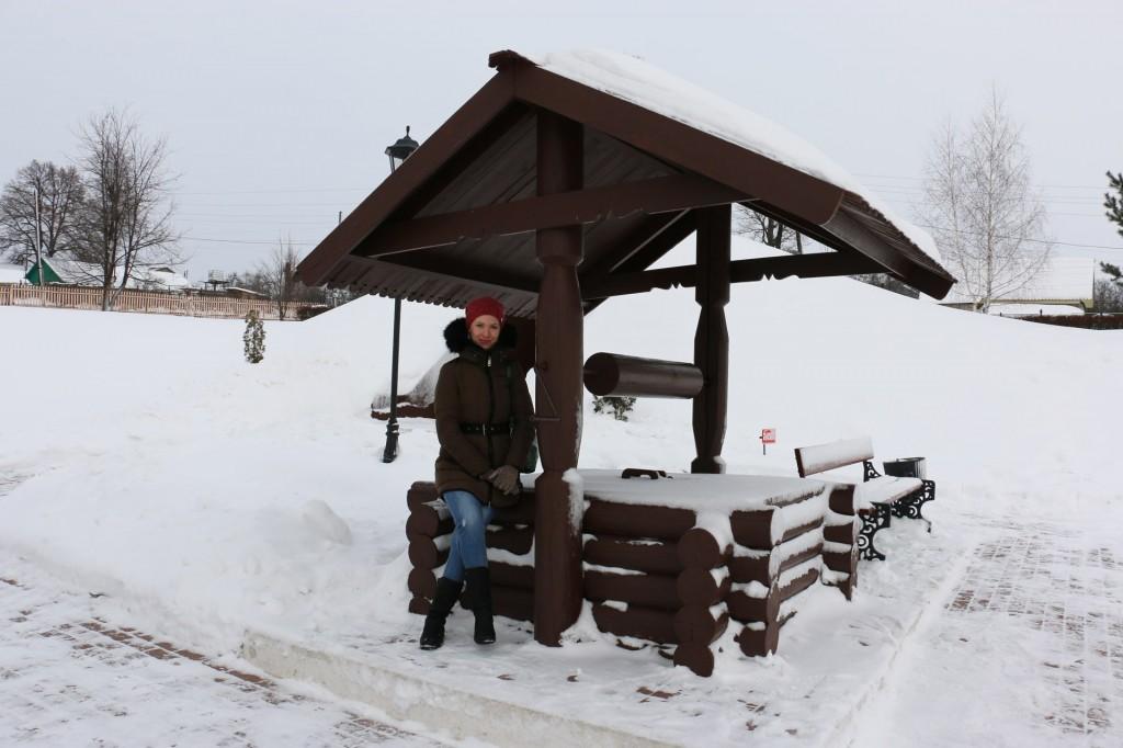 Колодец на станции Козлова Засека