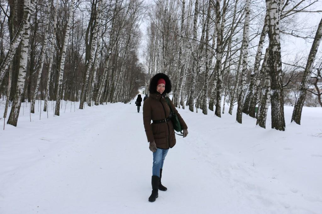 Аллея Прешпект в Ясной Поляне