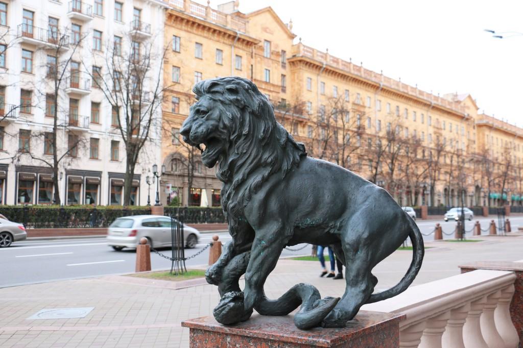 Львы в Минске