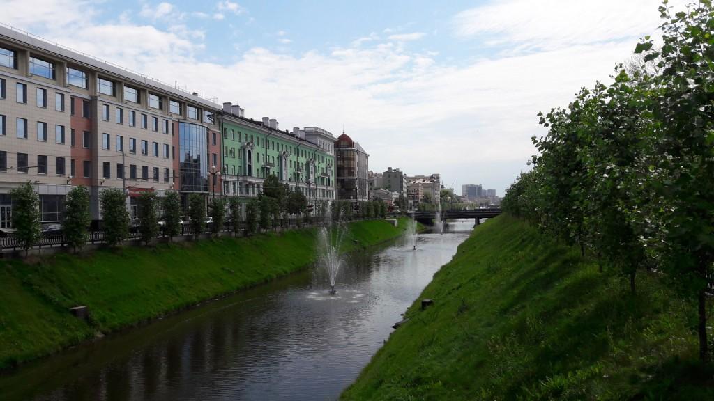 Протока Булаг в Казани