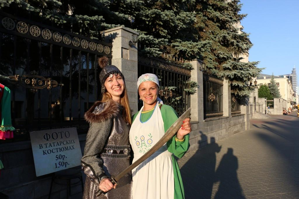 Жительница Казани