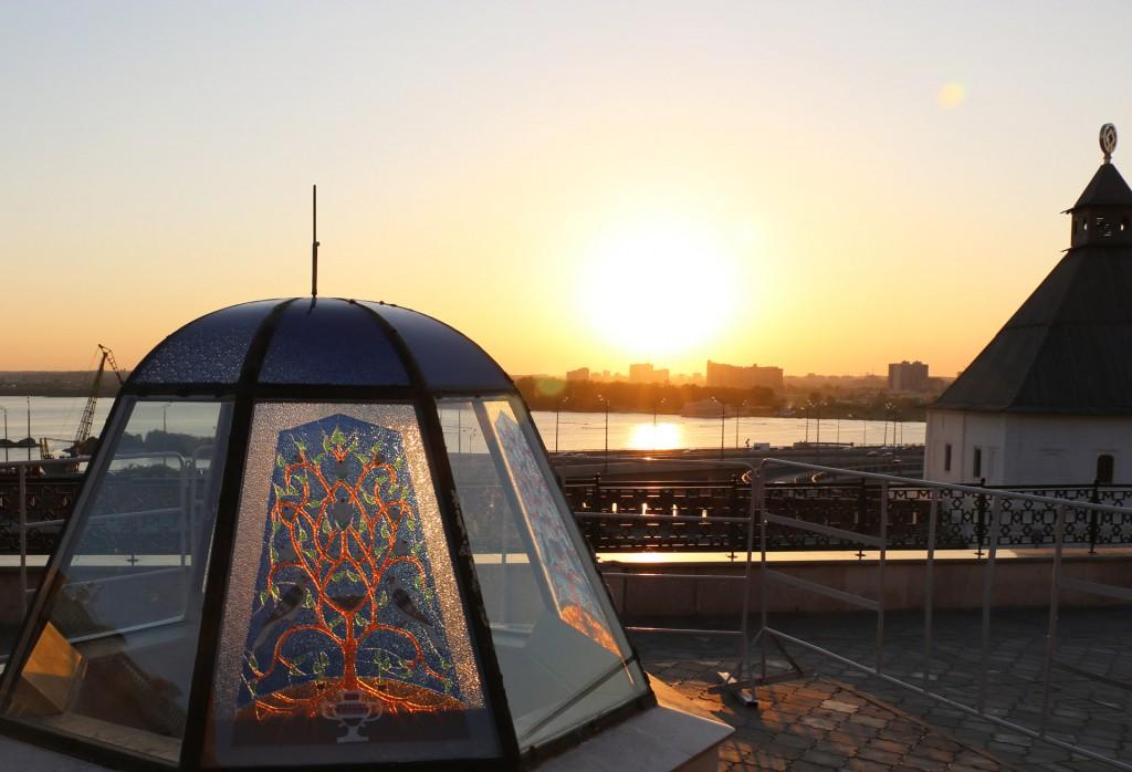 Закат в Казанском Кремле