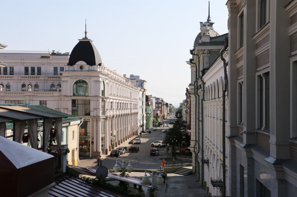Улочки Казани