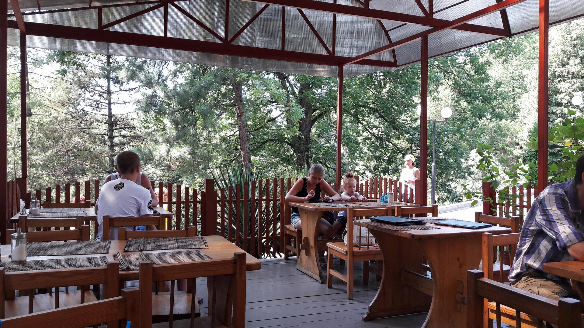 ресторан во владикавказе дендрарий городские