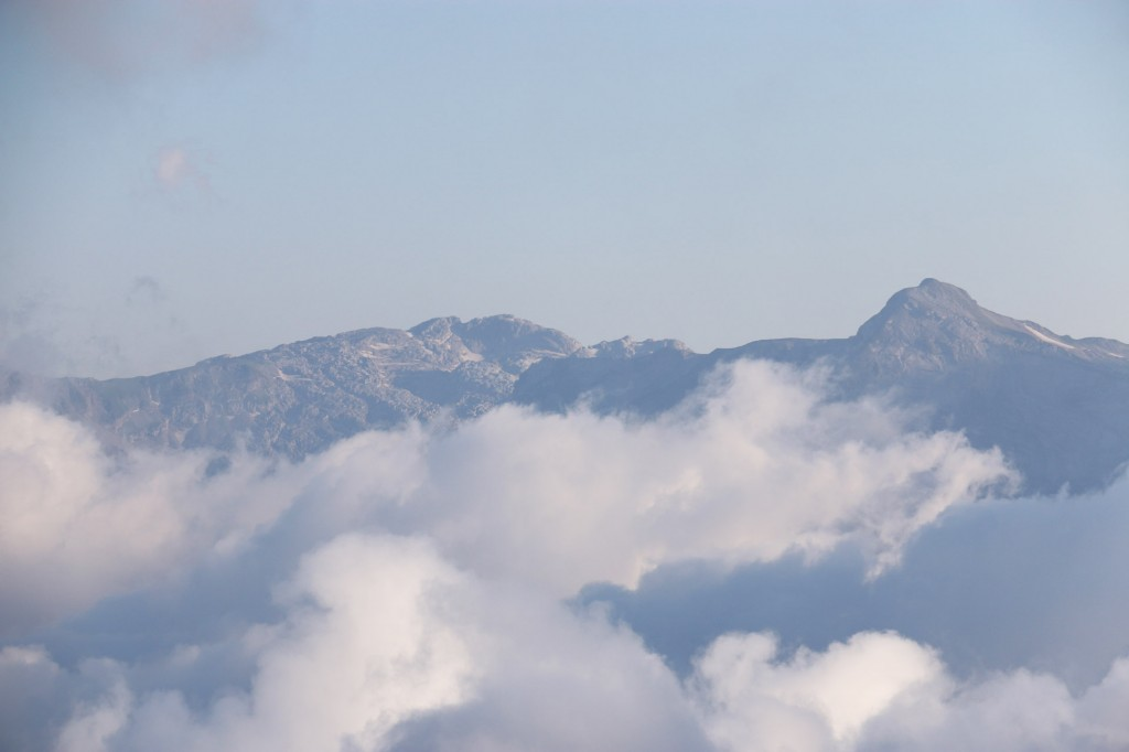 Облака с высоты Роза Пик