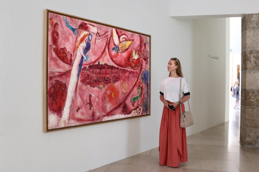 Юлия Акименко музей Шагала